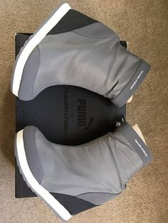 Puma Designer Ankle Boots / Women shoes $150 Negotiable!!  Brand new designer Puma Ankle Boots for Sale. Never worn and could not be returned as bought on promo. RRP $200  Brand New Hakkoda Zip Steel Gray  Size:  US 6 1/2  UK 4  EU 37  23cm  Local pick up / post #rangloo, #bar, #accessories