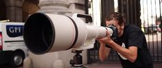 Canon 1200mm Telephoto in action.