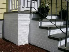 paint over cement steps - Google Search