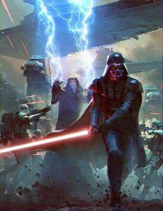 Star Wars Darth Vader and Darth Sidious
