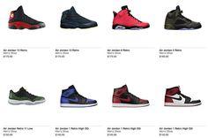 Nike.com US Air Jordan Restock Spring/Summer 2014 Lineup