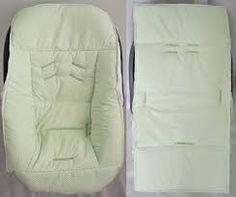 Resultado de imagem para molde de capa para bebe conforto passo a passo