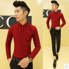 Find More Casual Shirts Information about 2015 Fashion Men's Casual Shirts Free Shipping CS76,High Quality Casual Shirts from HOTI STYLE on Aliexpress.com