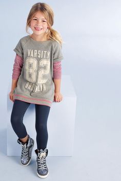 Buy Varsity Leggings Two Piece Set (3-16yrs) from the Next UK online shop