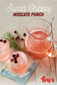 This punch recipe is super easy, looks beautiful, and tastes delicious. It's perfect to serve at a holiday party. This punch recipe is super easy, looks beautiful, and tastes delicious. It's perfect to serve at a holiday party. Christmas Cocktails, Holiday Drinks, Party Drinks, Fun Drinks, Yummy Drinks, Holiday Recipes, Yummy Food, Holiday Meals, Beverages