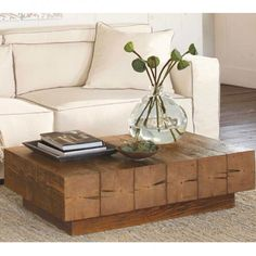 Shop the Red, White and Blue Sale! Now through July take OFF all products made in the USA, like our Chunky Timber Coffee Table Decor, At Home Furniture Store, Coffee Table Design, Furniture, Coffee Table Furniture, Table, Table Furniture, Home Furniture, Coffee Table