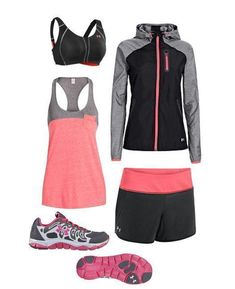 Style brought to you by Under Armour! I will: Run. #underarmour #running http://www.FitnessGirlApparel.com