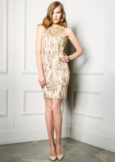 Boxing Day SALE ON!!  SANDIE - Gold Sequin Dress