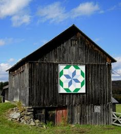 Beautiful barn and barn quilt - Woodstock, NY