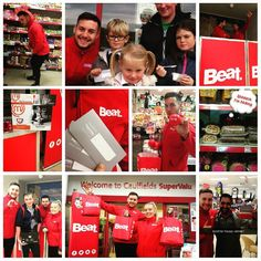 We're nearly finished up here in #CaulfieldsSuperValu Loads of great prizes given out and plenty of happy painted faces on show too! #AudiA1BeatFleet #SuperValu #HyperCenter #Waterford