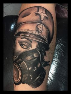 Black and Grey style by Mael tattoo.