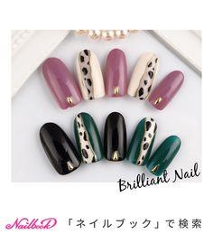 Pin on ネイル Animal Nail Designs, Heart Nail Designs, Nail Art Designs Videos, Animal Nail Art, Sparkly Nails, Fancy Nails, Stylish Nails, Trendy Nails, Asia Nails