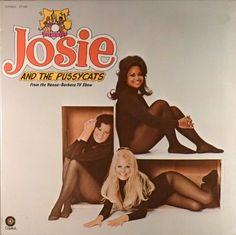 Josie and the Pussycats (Capitol; 1970) The Saturday morning TV show was a hit, but the album was not. In fact, this album is surprisingly rare. The blonde in the group is Cheryl Stoppelmoor, who was later famous as Cheryl Ladd. #albums #records #vinyl #LP