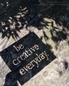 simple shadow art: be creative everyday.