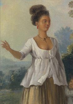Agostino Brunias - Two West Indian Women of Color. Ca. 1780.    tumblr_mvxaz1q8RM1ssmm02o2_1280.png