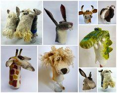 Puppets - Gladys Paulus via The Etsy Blog