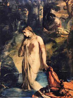 THÉODORE CHASSÉRIAU, SUSANNA AND THE ELDERS, N.D.