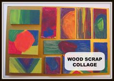 The Chocolate Muffin Tree: Wood Scrap Collage