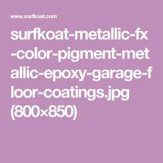 Epoxy Garage Floor Coating, Garage Floor Coatings, Epoxy Floor, Metallica, Flooring, Color, Colour, Wood Flooring, Floor