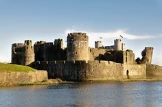 Caerphilly Castle - South Wales