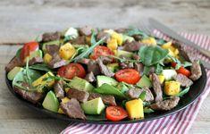 IMG_0140 Mango, Avocado, Comfort Food, Frisk, Crunches, Vinaigrette, Cobb Salad, Green Beans, A Food