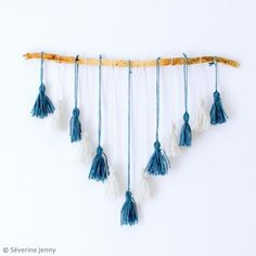 DIY : Décoration avec des pompons