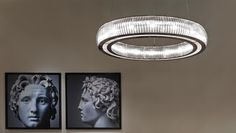Fendi Casa Luce, lighting, lamps and luxury furniture complements