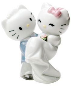 Nao by Lladro Collectible Figurine, Hello Kitty Gets Married - Collectible Figurines - for the home - Macy's
