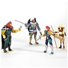 Thunder Cats™ Action Figures - Organize in #KlaserApp