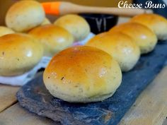 These are super soft herby buns filled with cheese. Eat warm to enjoy the cheese oozing out as you take a big bite