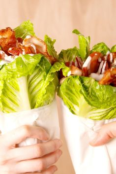 These Chicken Bacon Ranch Lettuce Wraps Are Beautiful  - Delish.com