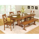 Found it at Wayfair - Home Loft Concept Millwright 6 Piece Dining Set