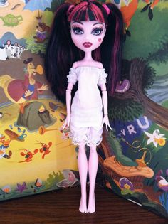 CHEMISE & BLOOMERS Monster High underwear doll by LovelyWoods