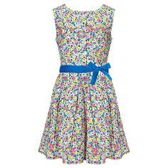 Buy John Lewis Girl Ditsy Woven Dress, Yellow from our Girlswear Offers range at John Lewis & Partners. Girls Casual Dresses, Summer Dresses, Yellow Online, Girls Party Dress, Party Dresses, Yellow Dress, Kids Wear, John Lewis, Girl Fashion