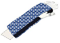 Injury got you on the sidelines? Support your team with these trendy cast covers! http://ouchiewear.com RT the fun!
