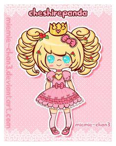 kawaii cheshirepanda by miemie-chan3.deviantart.com on @deviantART #sweetlolita