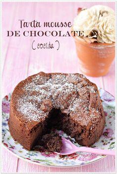 ^^ Tarta Mousse de Chocolate Recetas Sin Azúcar   El blog sin azúcar