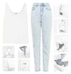 """""""NOTHING EXTRA"""" by constellation-s ❤ liked on Polyvore featuring WÃ¥ven, Totême, unicorntags and philosoqhytags"""