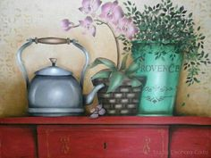 Paintings, Home Decor, Pallet, Roof Tiles, Avocado, Wood Paintings, Calla Lilies, Teapot, Painting On Fabric