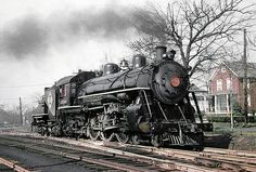 Erie K1 class 4-6-2 Pacific steam locomotive # 2544, is se… | Flickr