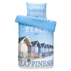 Dekbedovertrek Beach House - 140x200/220 cm