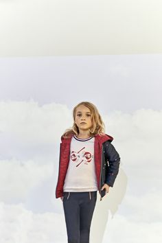 Look fille Printemps/Eté 2018 collection IKKS Kid Girl #ss18 #kidstyle