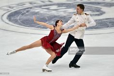 Ekaterina Bobrova and Dmitri Soloviev of Russia compete in the Ice dance free dance during the day three of the NHK Trophy ISU Grand Prix of Figure Skating 2015 at the Big Hat on November 29, 2015 in Nagano, Japan.