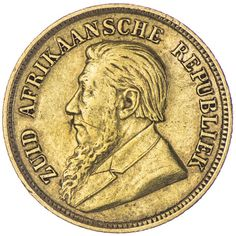 Republik  1/2 Pond 1896 Gold, Johannesburg