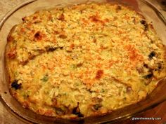 gluten free, dairy free, tetrazzini, casserole, turkey leftovers, Thanksgiving, holiday