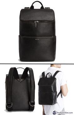 Matt & Nat Dean Vintage Backpack - Sophisticated men's backpack for work - Full Review: https://backpackies.com/blog/10-best-backpacks-for-work-professional-and-stylish/#mattnat