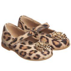 Roberto Cavalli - Girls Jaguar 'RC' Leather Shoes   Childrensalon