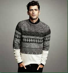 Sean O'Pry for H&M: 'Winter Knits'