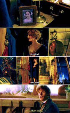 """Leta Lestrange? I've heard of that family. Aren't they kinda - you know?"""