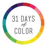 Enter 31 Days of Color at http://bit.ly/1DvyEHX